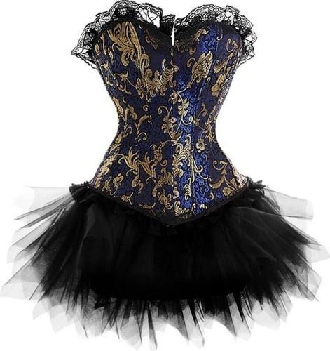 Black tutu Moulin Rouge Fancy Dress corsets slim women's basques bustier | eBay