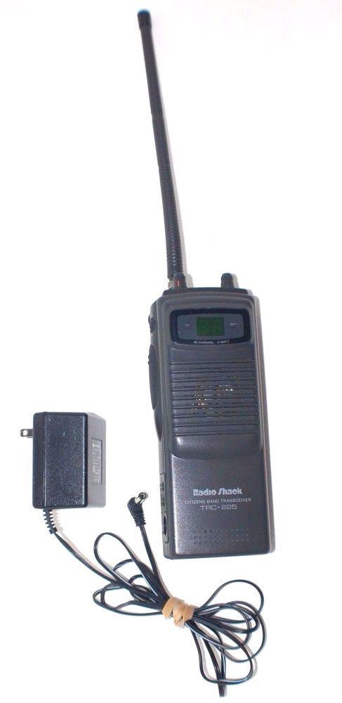 Details about Radio Shack TRC-231 CB Transceiver Walkie-Talkie 5