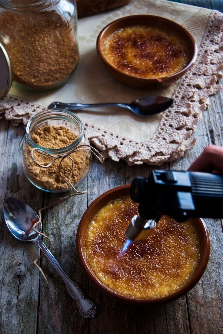 La asaltante de dulces: Receta de Créme Brûlée de jengibre/ Ginger Créme Brûlée recipe