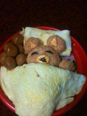 bear omlette