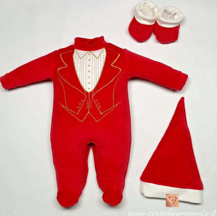 abbigliamento neonato natale da personalizzare, il primo natale è un'esperienza indimenticabile, uno spirito natalizio che il coordinato riesce a creare.