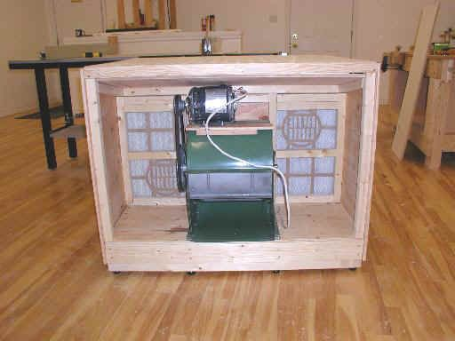 10 downdraft table plans and build notes for wood shops for Ana white router table