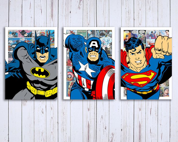 Quiero compartir lo último que he añadido a mi tienda de #etsy: Set de 3 Láminas descargables digitales superheroe comic, Superman, Batman, y Capitan America http://etsy.me/2F3Yrym #arte #grabado #superheroe #impresion #digital #cuadro #infantil #comic #popart