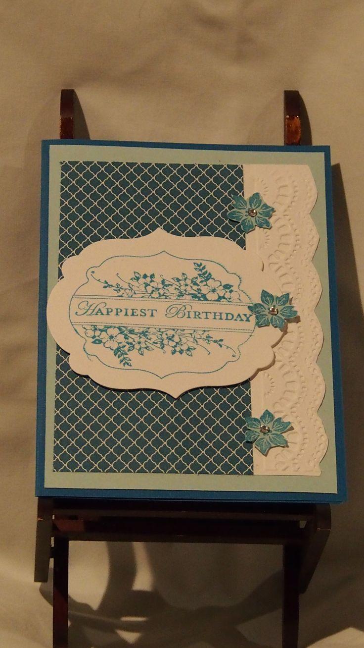 a birthday card, soo classy