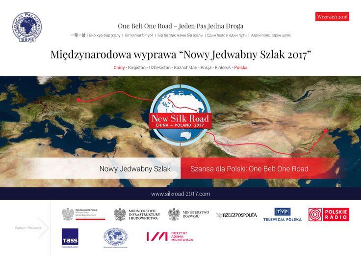 Okładka broszury międzynarodowej wyprawy Nowy Jedwabny Szlak 2017 - wydanie wrzesień 2016 | http://silkroad-2017.com