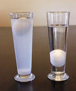 We Made That: Floating Egg Experiment fresh water vs salt water
