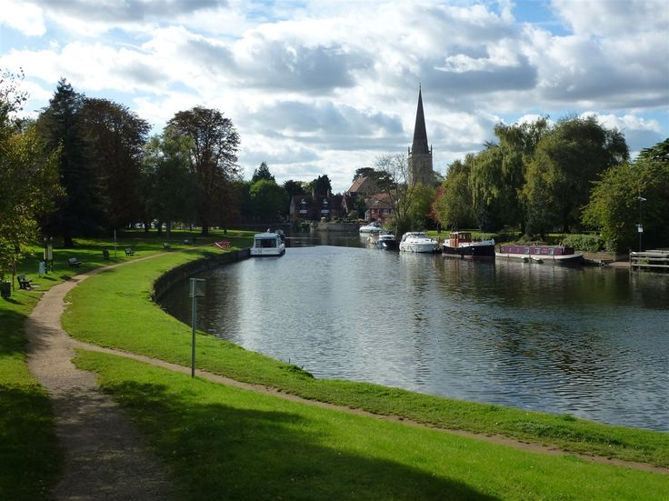 The River Thames at Abingdon in Oxfordshire.