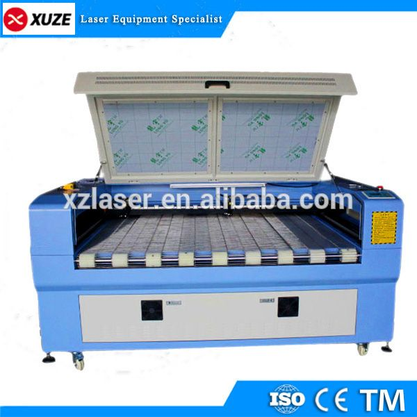 Textile /Printed Fabric Laser Cutting Machine Price With Auto Feeding