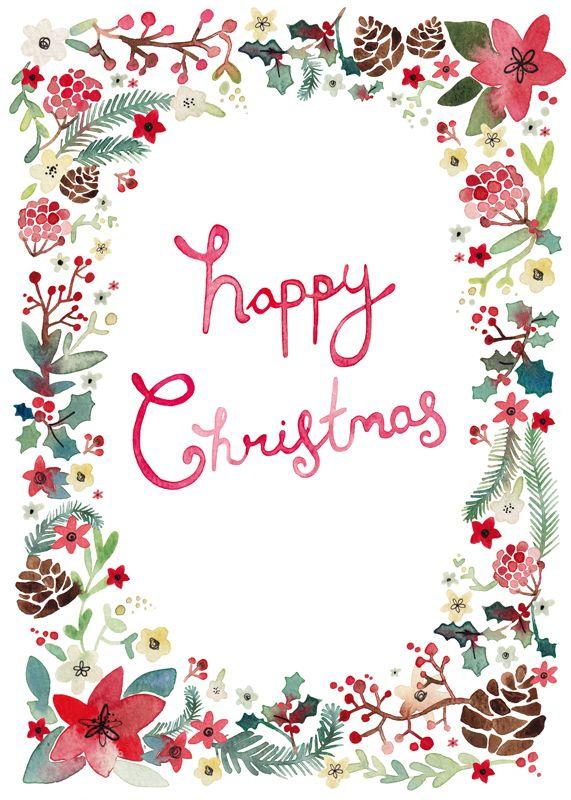 Felicity-French-happy-christmas-foliage-CF.jpg (571×800)