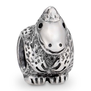 Pandora charm - the dragon that thinks it's a dinosaur :)