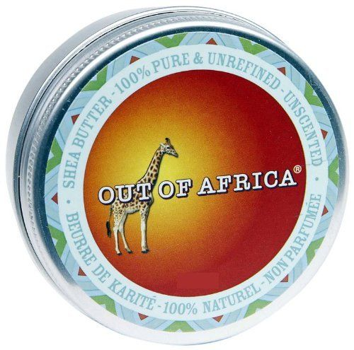Out Of Africa - Unscented Shea Butter Tin, 2 oz balm by Out Of Africa. $8.99. Does Not Contain: No Parabens, No Sulfates, No Propylene Glycol, No Phthalates, No Animal Testing or Derived Ingredients.. Out of Africa Unscented Organic Certified Shea Butter is 100% pure and unrefined. Guaranteed fresh and authentic.