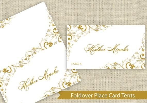 Staples Tent Cards Template Fresh Wedding Place Card Instant Download Editable By Karmakwe Wedding Place Card Templates Wedding Place Cards Place Card Template