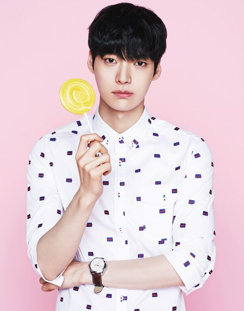 Ahn Jae Hyun for AMH Spring 2015 Ad Campaign