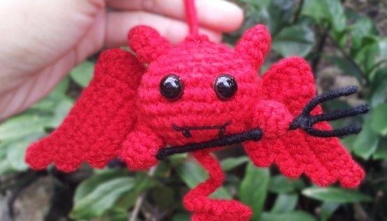 Cute Devil Amigurumi for Halloween