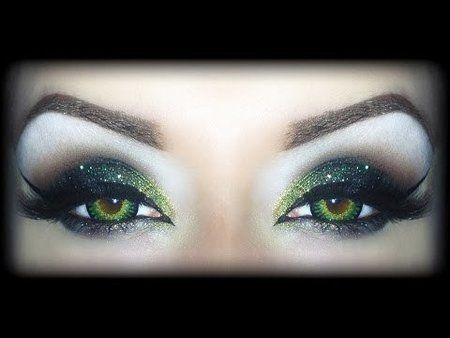 SEXY HALLOWEEN Makeup Tutorial - Wicked Witch of the West #emauelecastelli #halloweenmakeup  - bellashoot.com