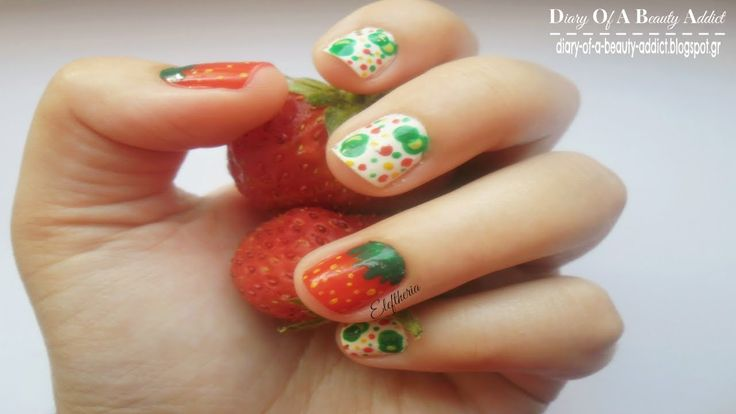 Simply Nails ▎❝Strawberry & Bubbles❞