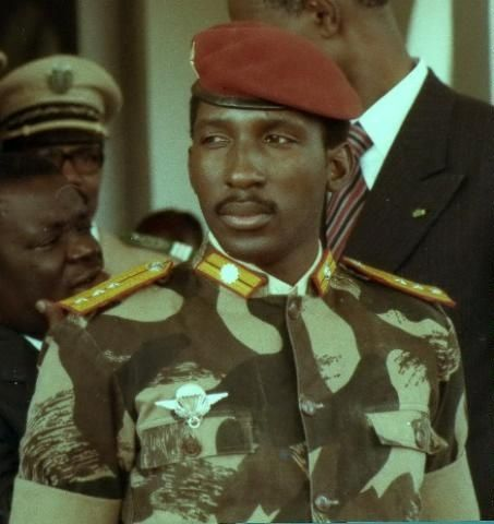 """I speak on behalf of the millions of human beings who are in ghettos because they have black skin or because they come from different cultures, and who enjoy status barely above that of an animal."" - Thomas Sankara"