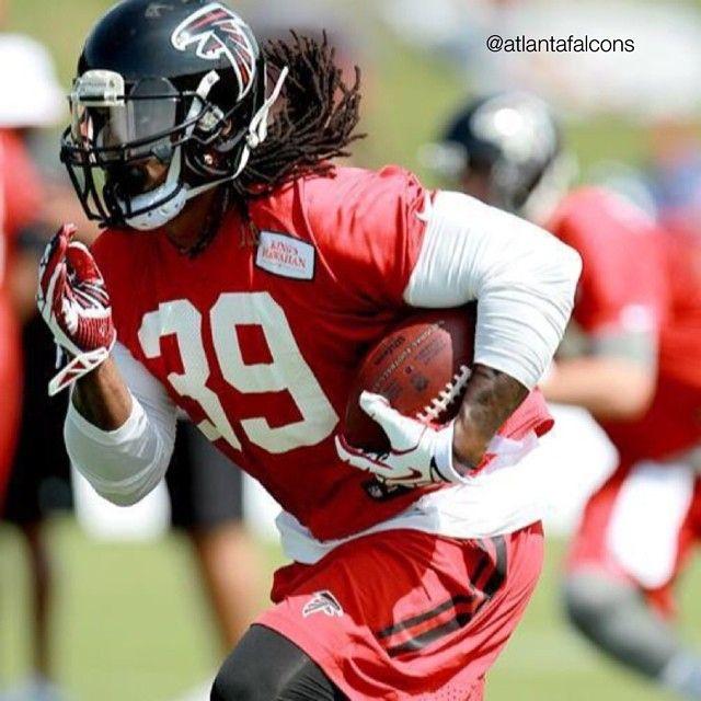 Jul 31, 2015; Flowery Branch, GA, USA; Atlanta Falcons wide receiver