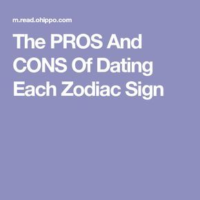 star sign dating