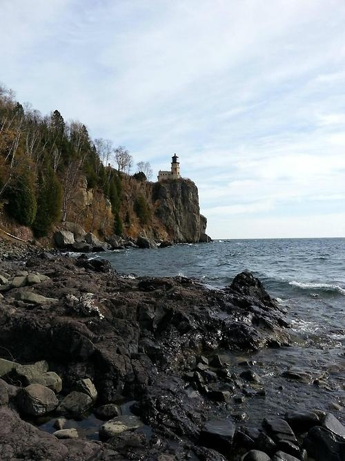 Split Rock Lighthouse. Lake Superior, North of Two Harbors, MN.