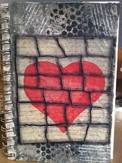 Another page from my art journal.  You can find other pages on my blog or Pinterest.