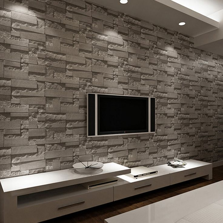 Las 25 mejores ideas sobre papel tapiz de piedra en - Papel para paredes con humedad ...