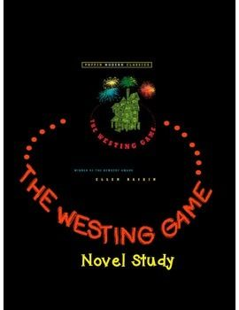 Worksheets The Westing Game Worksheets 1000 ideas about the westing game on pinterest students book novel study 70pages questions vocab