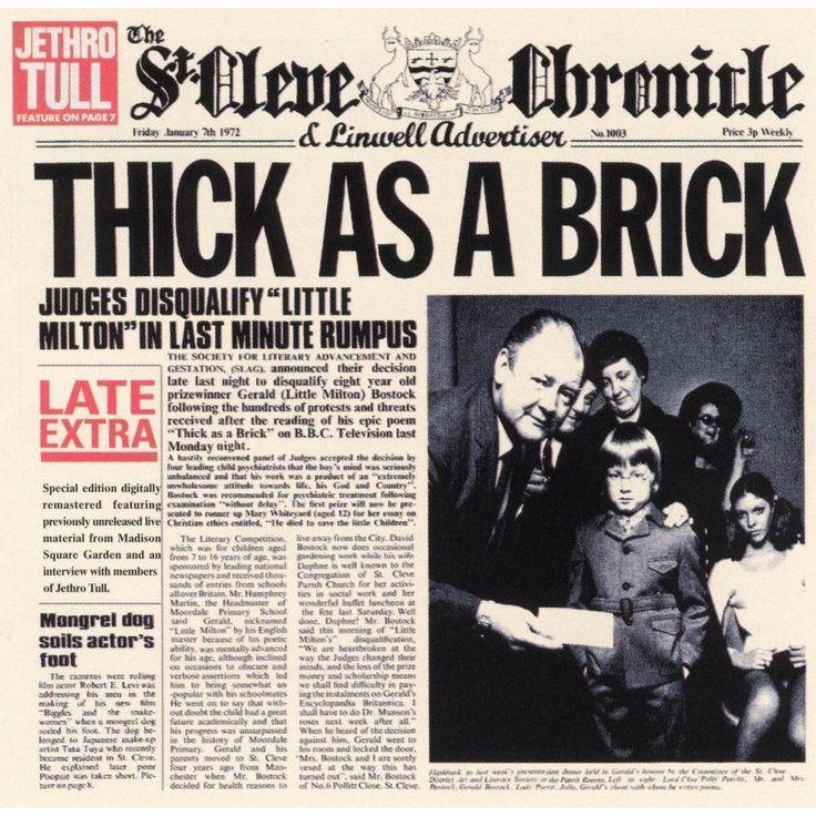 Thick As A Brick (Bonus Tracks)