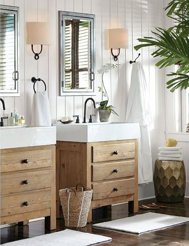 165 Best Images About Bathrooms On Pinterest Sconces Modern Farmhouse Bathroom And Master Bath