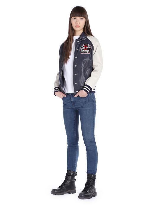 DIESEL- Leather jacket / PE 15 College mood