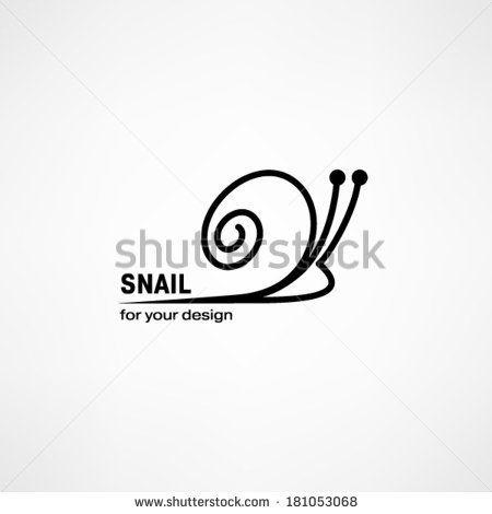 Snail icon - stock vector