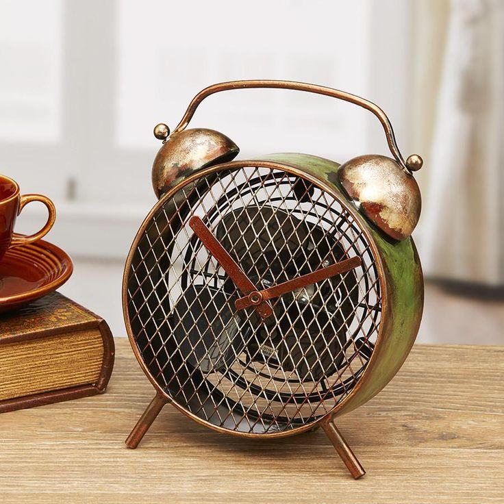 Figurine Fan - Alarm Clock