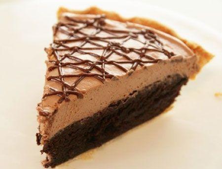 Tarta facil de Nocilla y brownies
