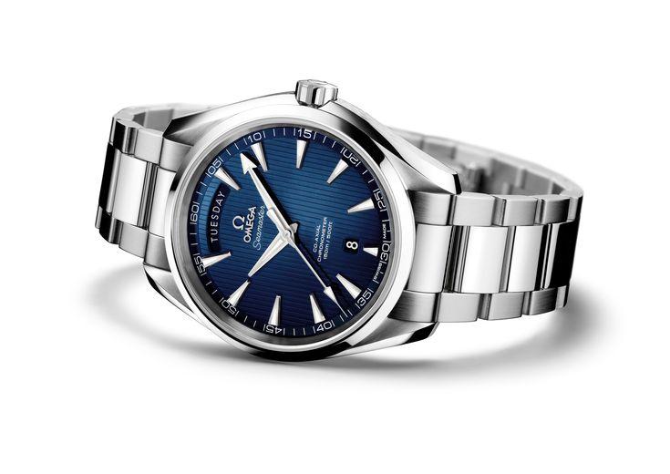 BASELWORLD 2013: Omega Seamaster Aqua Terra Day-Date