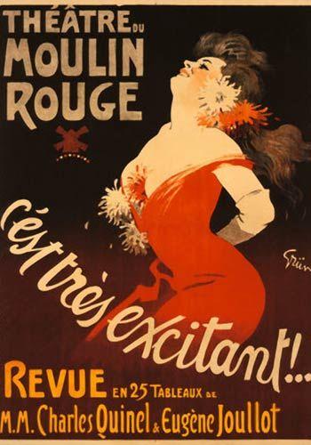 Theatre du Moulin Rouge by Jules Alexandre Grun (1910)