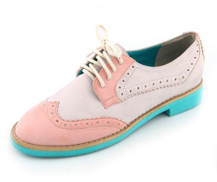 Pink Kandy Oxfords by Le Bunny Bleu