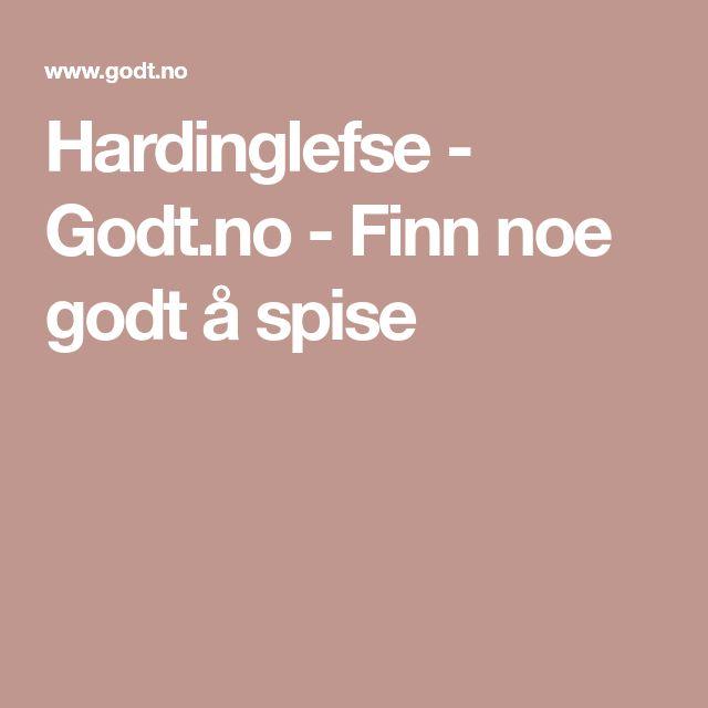 Hardinglefse - Godt.no - Finn noe godt å spise