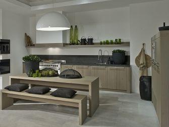 Een ontwerp van een landelijke en stoere keuken