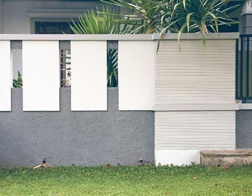 8 Model Dan Jenis Pagar Tembok Rumah Minimalis
