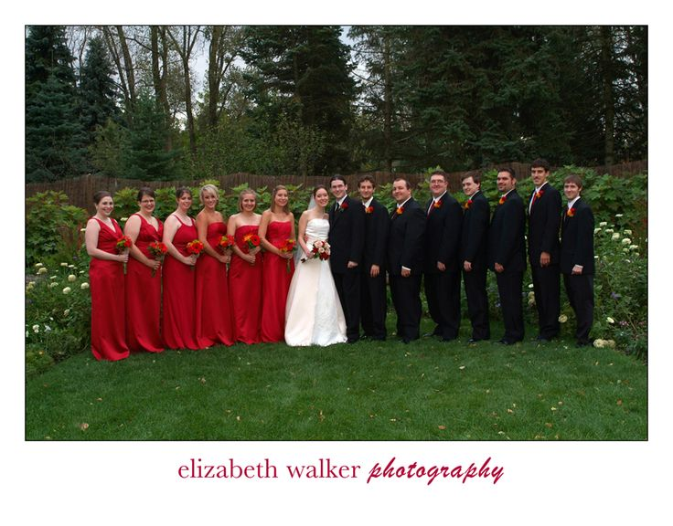 Another White Black And Red Wedding