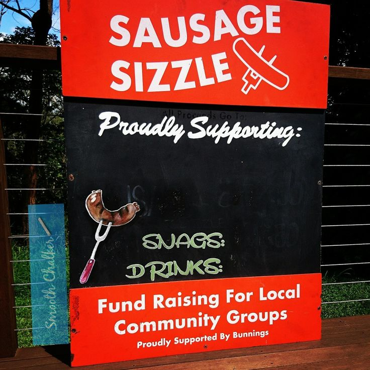 Sausage Sizzle anyone??