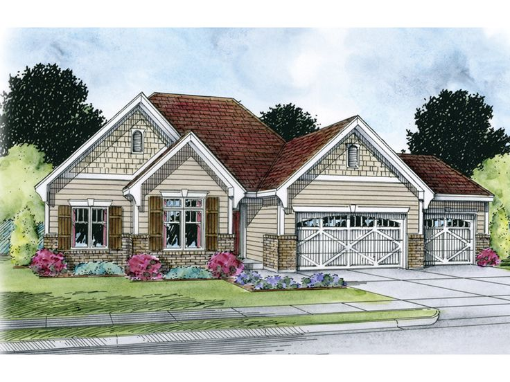 The has 3 bedrooms, 2 full baths and 1 half bath. See amenities for Plan 026D-1939.