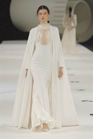 Gli abiti da sposa più belli per il 2019 dalla Barcelona Bridal Week ... 3a95b2015ac