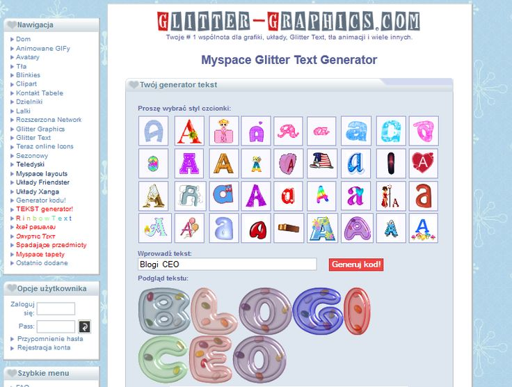 Generatory tekstu » 6c i nie tylko :D