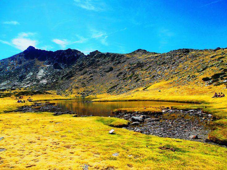 Laguna de los Pajaros. Parque de Peñalara.