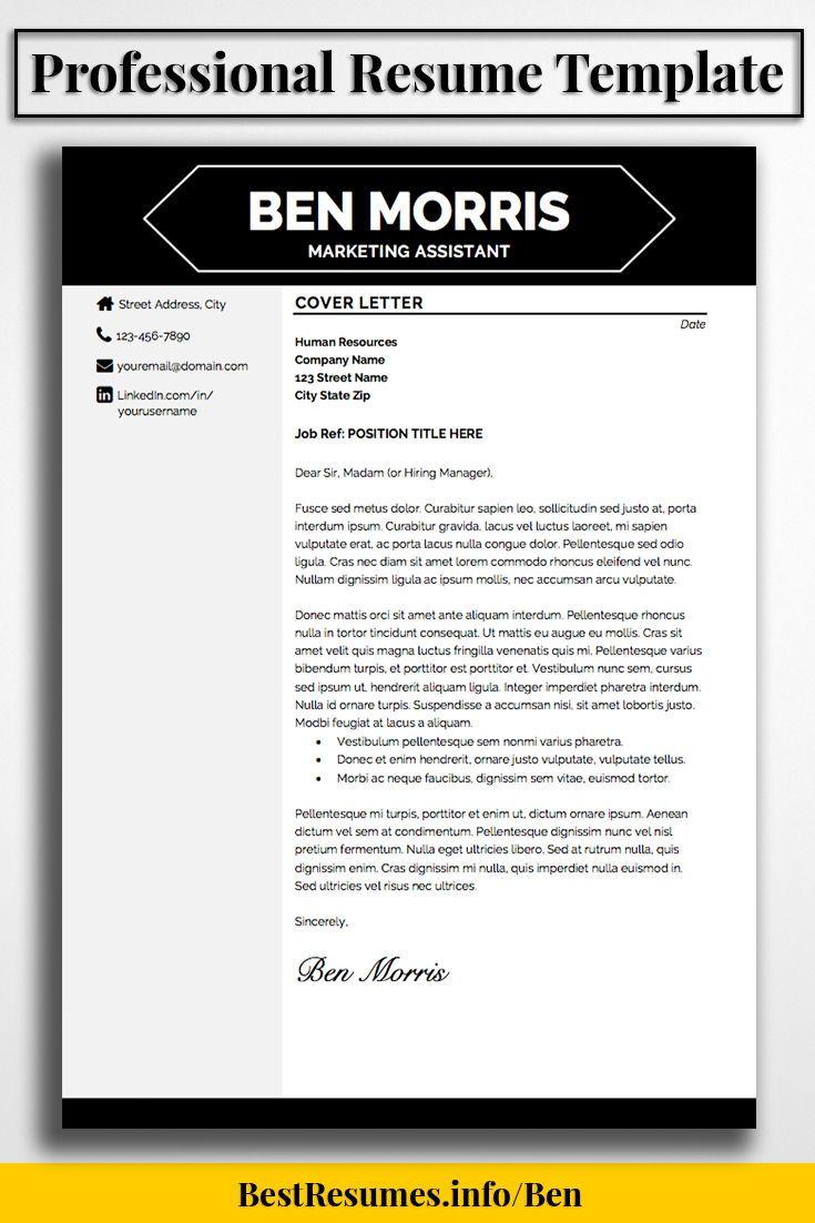 Professional Resume Samples Resume Template Ben Morris  Best Of Bestresumes  Pinterest .