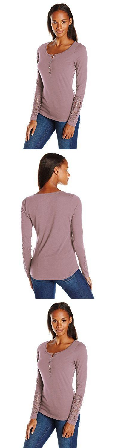 Shirts Tops and Sweaters 181368: Royal Robbins Women S Abbey Long Sleeve Henley Shirt Shale X-Small, New -> BUY IT NOW ONLY: $67.56 on eBay!