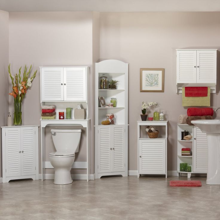 tall bathroom cabinet design