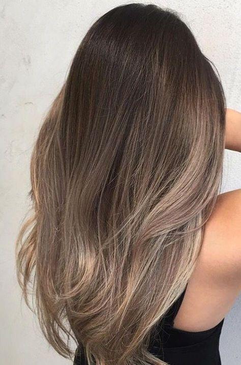 Pin Von Lynn Kaufmann Auf Haare In 2019 Balayage Straight Hair
