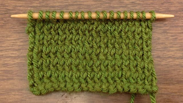 """How to Knit the Purl Through the Back Loop Stitch (p tbl)"" (NewStitchaDay.com) It looks like a really cool stitch!"